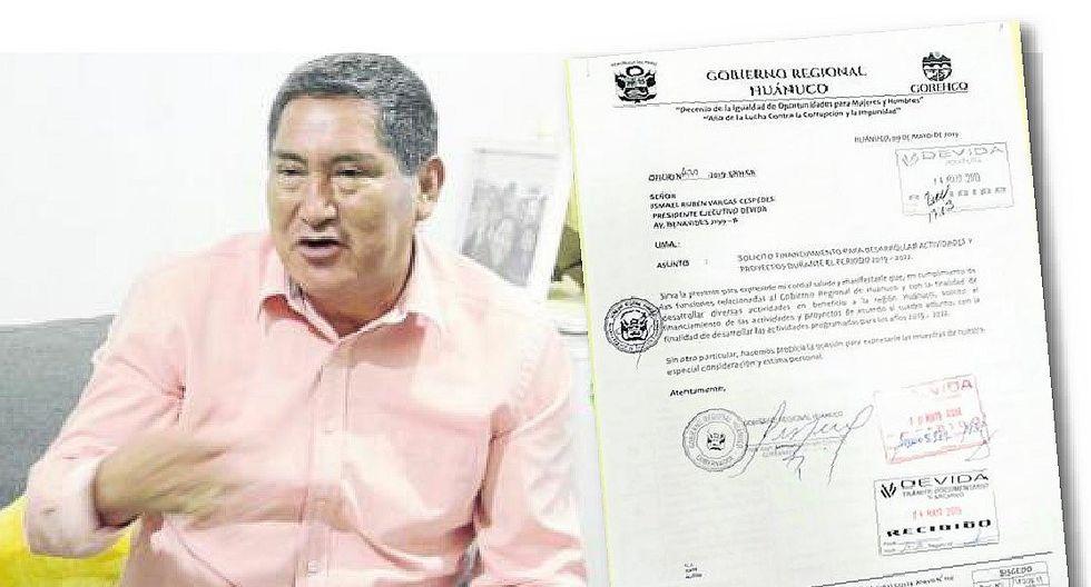 Alvarado solicita presupuesto a Devida y luego pide su cierre