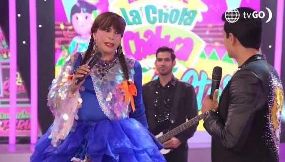 No solo entretiene en la animación y en el circo, la 'Chola Chabuca', también retoma su carrera de actriz teniendo una exitosa participación en la telenovela 'Luz de Luna'.