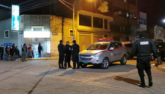 Los policías realizaron un operativo por diversos sectores sin resultado positivo. (Foto: Feliciano Gutiérrez)
