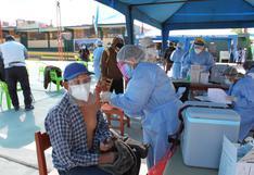 Empieza la aplicación de segunda dosis a mayores de 70 años en 4 distritos de Arequipa