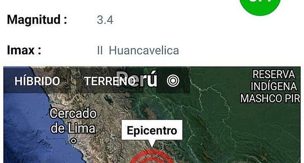 Constantes temblores atemorizan en Huancavelixa