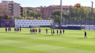 LaLiga: El Barcelona se prepara para enfrentar al Real Madrid