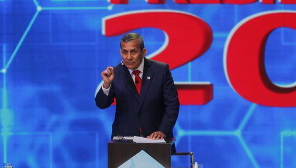 """""""Si hoy día estamos viendo una fragilidad y una debilidad extrema de este Gobierno, una vez que se elija al presidente electo, la burocracia estatal se va a cruzar de brazos"""", señaló Ollanta Humala. (Foto: GEC)"""