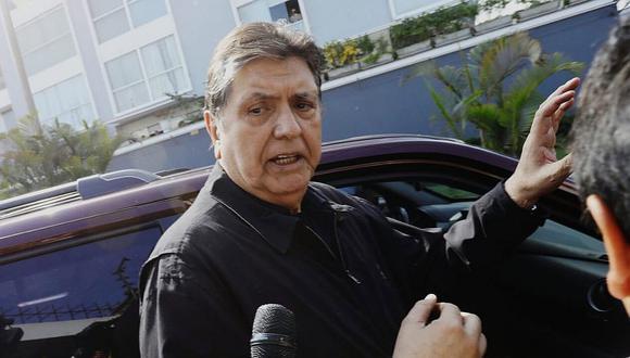 Alan García acusa al Gobierno de interceptar comunicaciones de los embajadores de Costa Rica y Uruguay