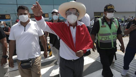 Pedro Castillo, candidato presidencial por Perú Libre, disputará la Presidencial de la República con Keiko Fujimori. (Foto: GEC)