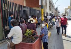 Ica: Largas filas en bancos generan peligro para los adultos mayores
