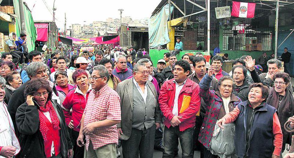 Desestiman que se realice un desalojo violento en La Parada