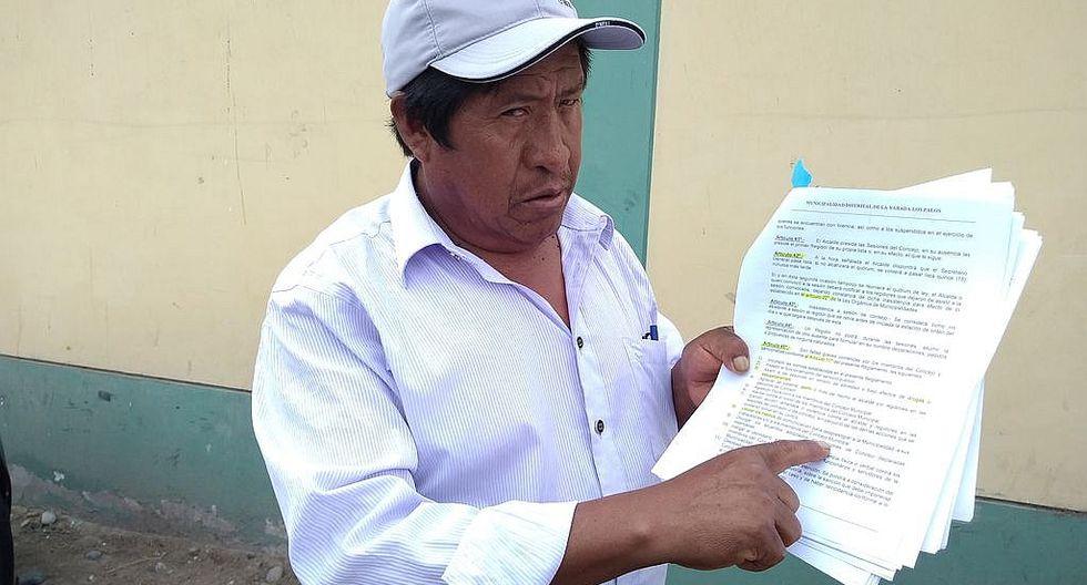 Alcalde y funcionarios deben asumir multa de la Prefectura Regional