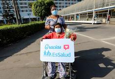 COVID-19: 52 personas fueron dadas de alta este sábado 11 de septiembre en Perú