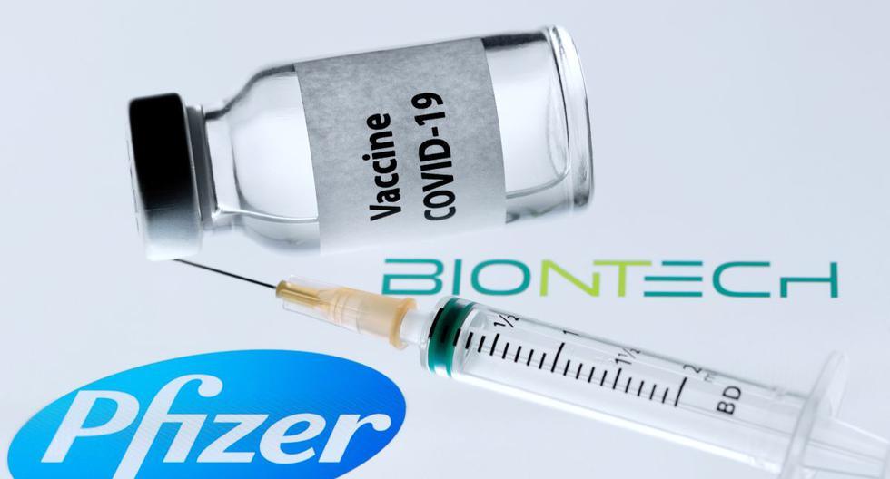 La vacuna de Pfizer y BioNtech, en la tercera fase de los estudios clínicos, mostró una efectividad del 95 por ciento y tiene que aplicarse distribuida en dos dosis para que ofrezca protección contra el coronavirus. (Foto: JOEL SAGET / AFP).