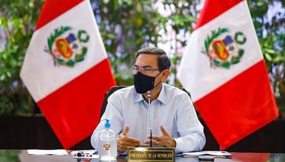 Presidente podría ser objeto de una sanción al declarar que representantes de AP y APP le pidieron postergar elecciones. (Foto: Presidencia de la República)