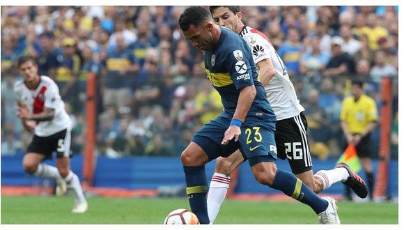 Boca Juniors vs River Plate: Carlos Tévez y la feroz llamada de atención a sus compañeros (VIDEO)