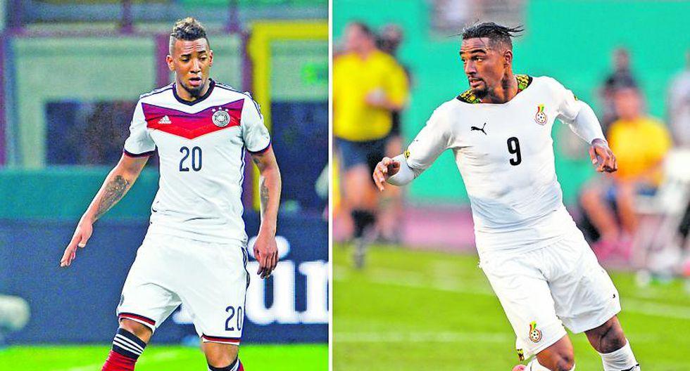 Hermanos y rivales en Brasil 2014: Jerome y Prince Boateng juegan hoy por Alemania y Ghana