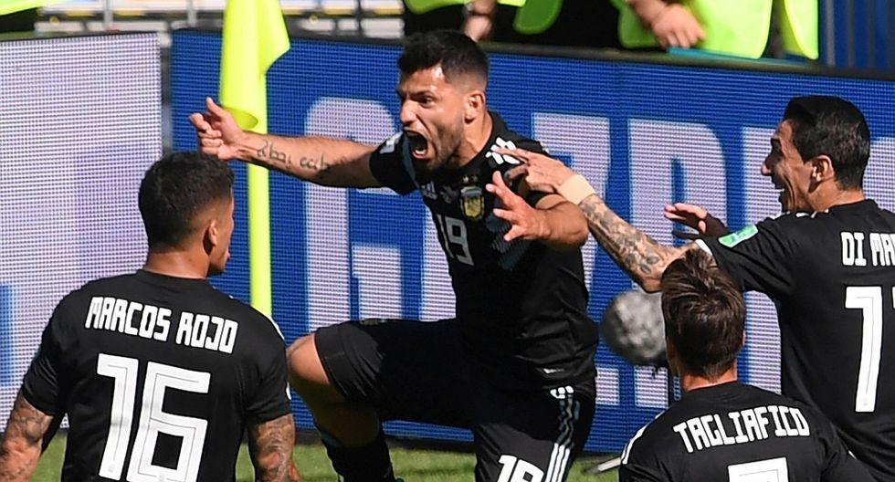 Argentina vs. Islandia: Mira el primer gol de Agüero en la historia de los mundiales (VIDEO)