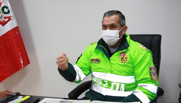 Piden máxima sanción para policías que fueron sorprendidos debiendo con menores en Carabaya