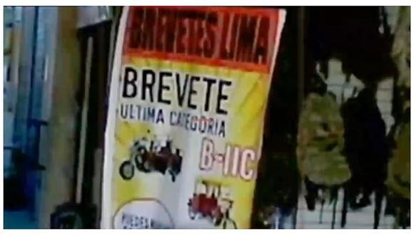 Callao: mafia otorga brevete para motocicletas sin pasar examen médico o prueba de manejo (VIDEO)