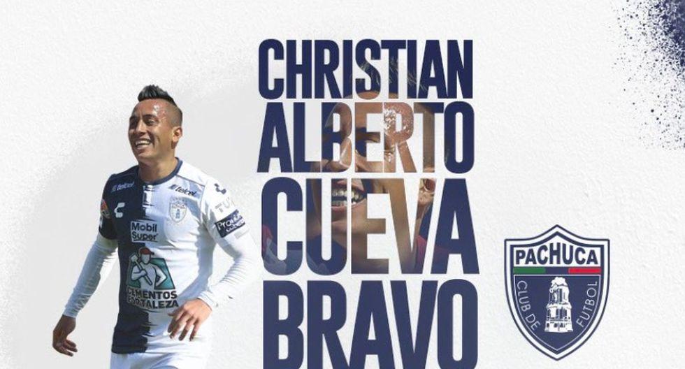 Christian Cueva también jugó en Toluca. (Pachuca)