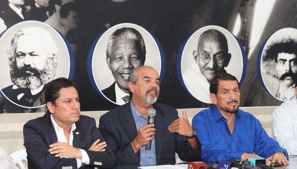Jurado Nacional de Elecciones mantiene su decisión de no reconocer como dirigentes a los excongresistas Elías Rodríguez y Mauricio Mulder(Foto: GEC)