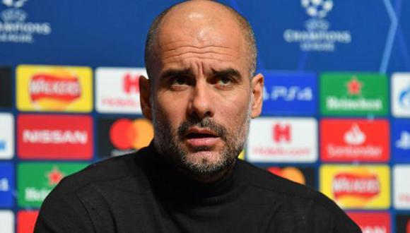 Pep Guardiola descarta que Manchester City realizará una gran inversión por fichar a un delantero. (Foto: AFP)