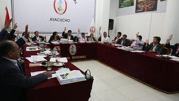 Consejo regional aprobó intervención del Minsa en la contención del Covid en Ayacucho
