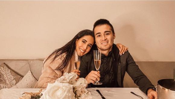 Melissa Paredes y Rodrigo Cuba celebraron 4 años de matrimonio. (Foto: @melissapareds)