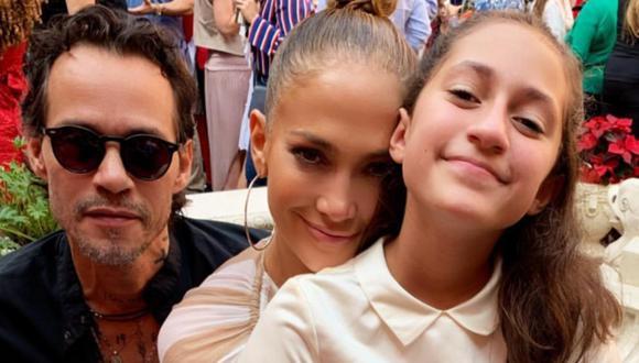 Marc Anthony y Jennifer Lopez se muestran orgullosos de Emme por su primer libro. (Foto: @jlo)