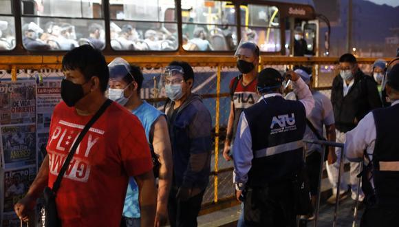 Ministros de Estado brindarán detalles sobre la lucha contra la pandemia. (FOTO: Captura Tv Perú) (Fotos: Jessica Vicente/GEC)