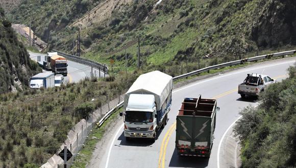 El reporte de la Sutran mostró también que 5100 vehículos se vieron involucrados en los 3526 accidentes.
