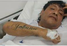 """Toño Centella sobre tatuajes que se hizo en honor a su esposa: """"Me los voy  borrar"""""""