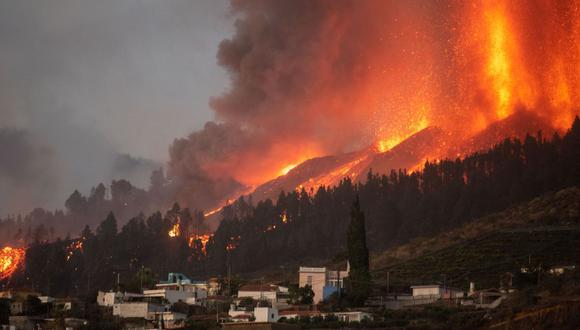 La última erupción de Cumbre Vieja tuvo lugar en 1971.(DESIREE MARTIN / AFP).