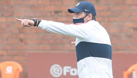Salas sumó ocho encuentros sin victorias con Alianza Lima. (Foto: Prensa AL)