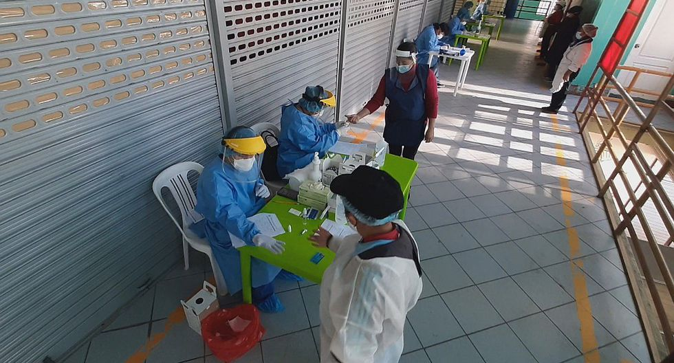 Ayacucho: detectan 5 casos positivos de COVID-19 en mercado de Huanta