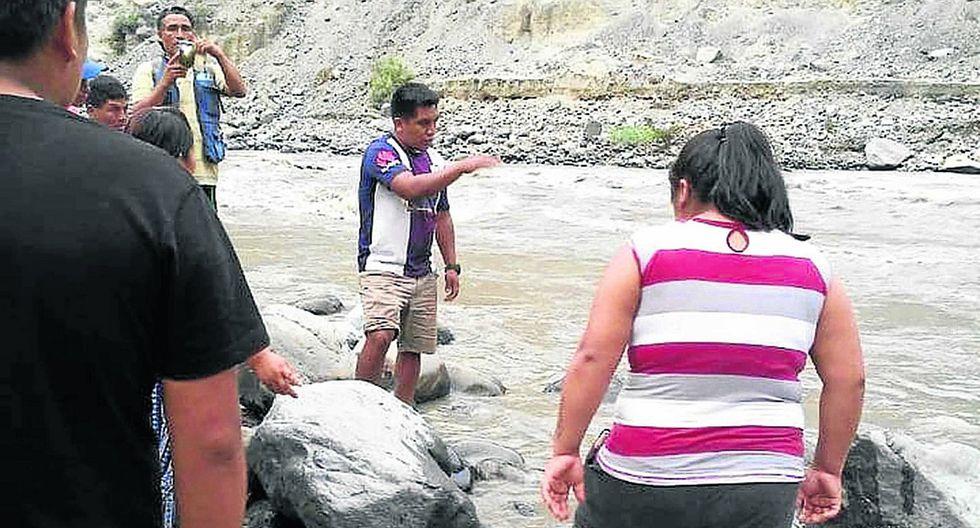 Tras seis días de búsqueda, hallan cuerpo de niño de 12 años que cayó a río Santa