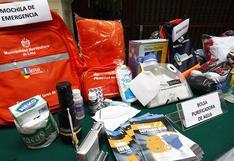 ¿Qué debe tener una mochila de emergencia ante un sismo?