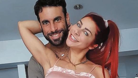 """Xoana González y su esposo Javier Gonzales. La modelo es propietaria de un departamento en Chorrillos. """"Yo vivo súper austera, no me interesan las carteras, los viajes"""", indicó."""