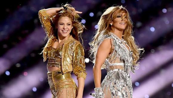El abrazo entre Shakira y JLo que no se vio en televisión