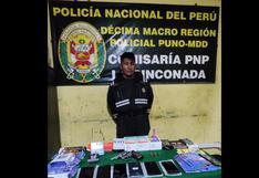 Detienen a presunto asaltante en La Rinconada