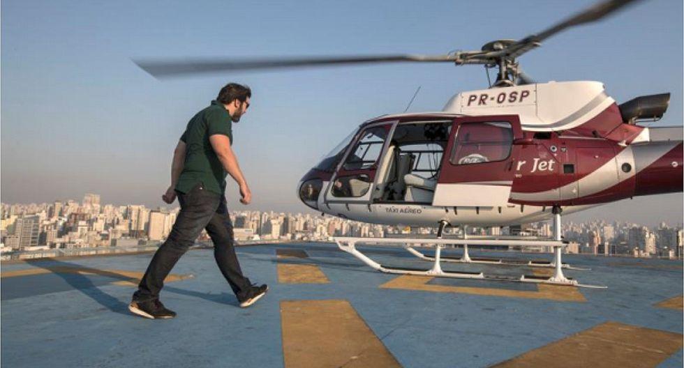 Lima: centro comercial ofrece servicio de transporte en helicóptero
