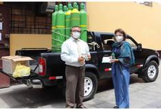UNT adquiere 10 balones de oxígeno para docentes y administrativos