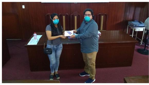 Apoyo se concretó entre coordinaciones del Centro de Estudiantes de Medicina UNT y el decano de la mencionada facultad y médicos egresados.