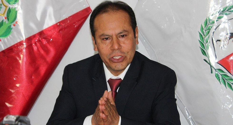 Gobernador regional de Apurímac se lava las manos en caso ingenieros 'bamba'