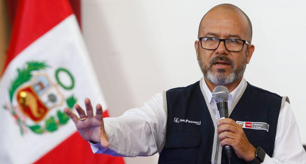 """Ministro de Salud sobre posible alargue de cuarentena: """"La evaluación es todos los días""""  (Foto: Minsa)"""