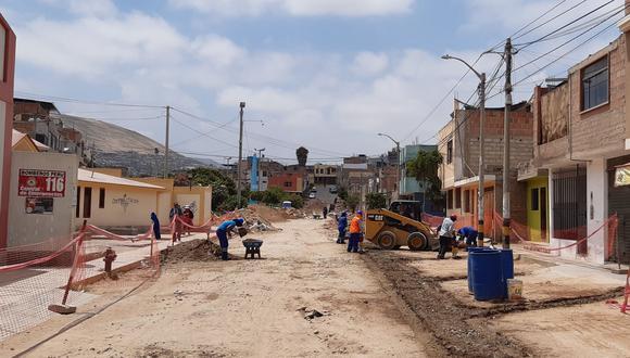 Obras avanzan lentamente por problemas con las constructoras, la mayoría se siguen ejecutando desde el año pasado. (Foto: Difusión)