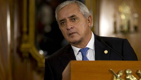 Congreso de Guatemala levanta inmunidad de presidente por sospechas de corrupción
