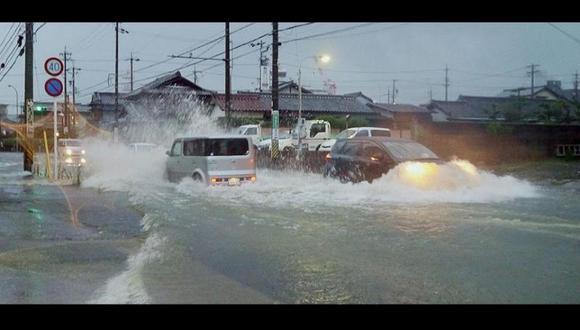 Japón: Más de 30 mil personas evacuadas por lluvias