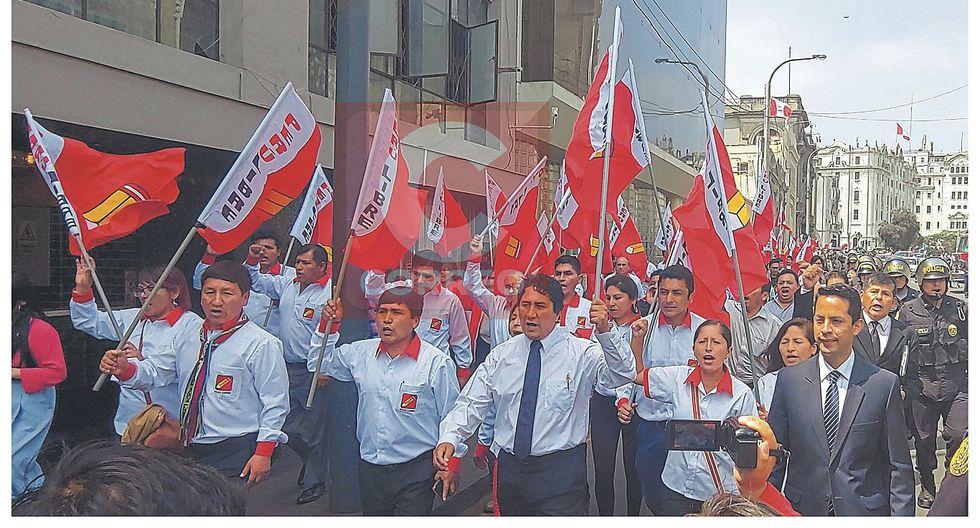 Cerrón señala que en lista de Perú Libre van dos ciudadanos LGTB