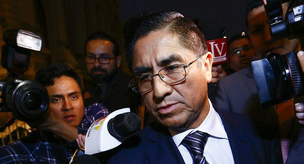 Acusación constitucional contra César Hinostroza genera tensión en el Congreso