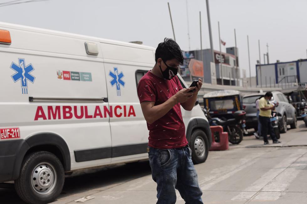 Doce hospitales en Lima ya no tienen camas UCI. Fotos: Leandro Britto / @photo.gec