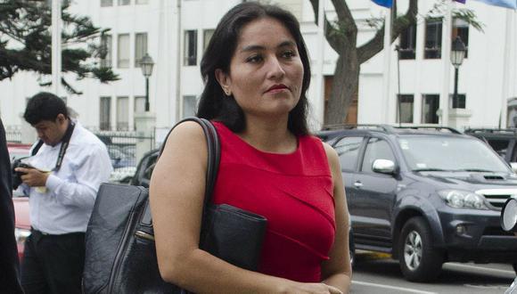"""Fiscal Chávarry denuncia a la congresista Marita Herrera por """"viaje fantasma"""""""