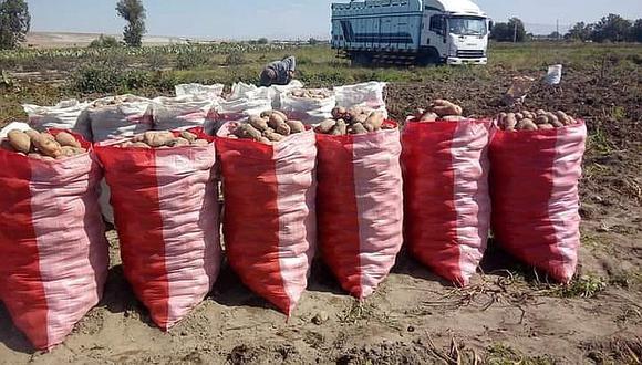 Agricultores no pueden cancelar créditos por venta de papa a 20 céntimos